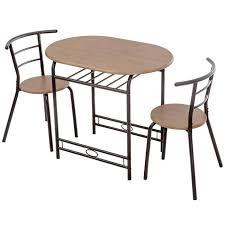 table cuisine petit espace cuisine petit déjeuner bar avec 2 chaises et 1 table bistro table à