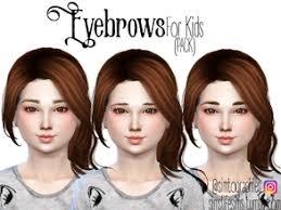 sims 4 kids hair sims 4 hair kids