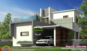Home Design 900 Sq Feet by Simple Budget Contemporary Home Kerala Home Design And Floor Plans