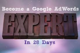 new course become a google adwords expert in 28 days