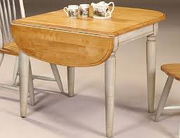 Ikea Drop Leaf Table Stainless Steel Countertop Cream Lacquered - Drop leaf kitchen table ikea