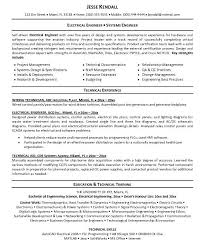 Resume Examples Electrical Engineer Download Electrical Engineering Resume Haadyaooverbayresort Com