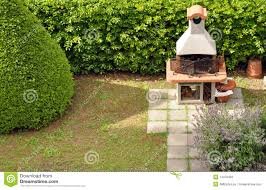 backyard barbecue stock photo image of garden chimney 14376402