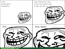 Troll Meme Comics - rage comic troll math by tobyz711 on deviantart