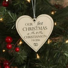 season personalized ornaments for couples