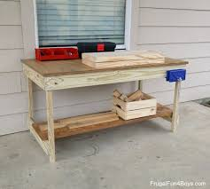 Diy Workbench Free Plans Diy Workbench Workbench Plans And Spaces by Kids U0027 Workbench Plans Build Your Own Kids U0027 Woodworking Space