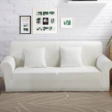 White Couch Living Room Online Get Cheap White Sofa Cover Aliexpress Com Alibaba Group