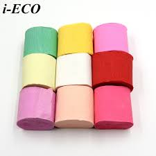 streamers paper 10m roll diy crepe paper streamers paper bouquet curling for home