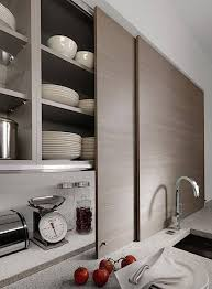 Kitchen Cabinet With Sliding Doors Beek Kuchen Sliding Kitchen Cabinets Remodelista For The Home