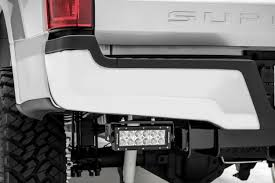 zroadz z325472 front bumper top led light bar mounts 2017 ford f