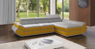 canapé d angle orange canapé d angle convertible genese mini gris et jaune lecoindumeuble