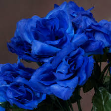 blue roses for sale 252 silk open roses wedding flowers bouquets wholesale supply