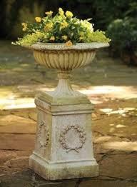 Pedestal Pots Garden Columns Pedestals Foter