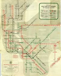 Mta Queens Bus Map 15 Subway Maps That Trace Nyc U0027s Transit History
