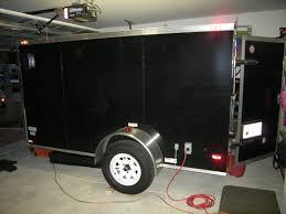 Trailer Garage Fs 6x10 Custom Made Diamond Cargo Enclosed Trailer W Ac Counter