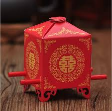wedding favor boxes wholesale free shipping 200pcs sedan chair wedding favor boxes