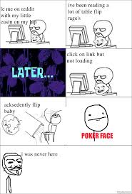 Flip Table Meme - ragegenerator rage comic table flip no baby flip