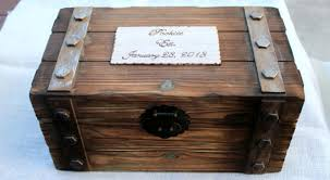 wine box wedding ceremony personalized card box trunk wine letter ceremony anniversary