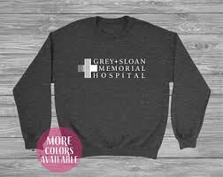greys anatomy sweatshirt etsy