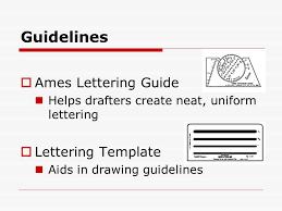 basic drafting skills lettering ppt video online download