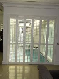 bathroom amazing plantation shutters for sliding door decor