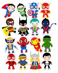 free superhero party clipart u0026 decoration printables party ideas