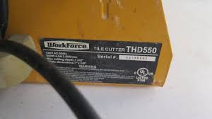 workforce tile saw thd550 saw palmetto for bph