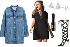 lace up t shirt dress ideas 3 ways to wear college fashion