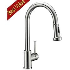 Brushed Brass Kitchen Faucet by Avola Solid Brass Sink Kitchen Faucet Brushed Nickel 1 Lever
