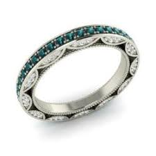 blue diamond wedding rings wedding ring wedding bands for women diamondere