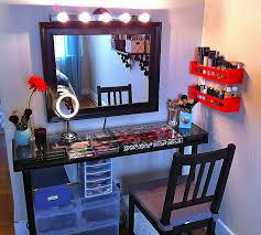 design home game vanity vanity light makeup vanities with lights awesome makeup station