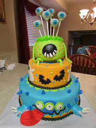 cakes by maria monster halloween birthday