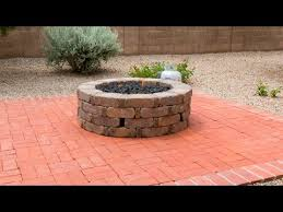 Fire Pit Backyard How To Install A Gas Fire Pit Youtube