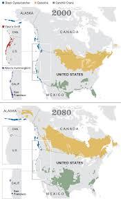 Hummingbird Map Projected Changes In Bird Habitats By 2080