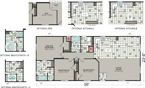 bradford floor plan manufactured homes floor plans silvercrest homes