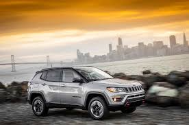 gray jeep 2017 2017 jeep compass trailhawk first drive compass finally finds