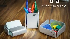 Stylish Desk Accessories Modeska Modern Office Accessories By Modeska U2014 Kickstarter