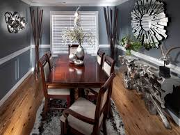 Gray Dining Rooms 25 Grey Dining Room Designs Decorating Ideas Design Trends