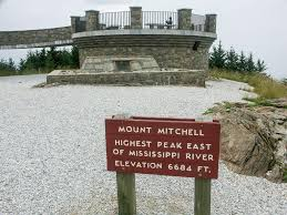 Nc State Parks Map by Mount Mitchell Hike