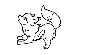 coloring page of wolf cute wolf coloring pages
