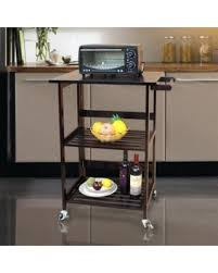 find the best deals on ktaxon 3 tier folding rolling wood kitchen