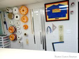 Organize A Craft Room - 5 ways to organize your sewing studio newton custom interiors
