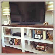 Rustic Tv Console Table Diy Tv Stand White Rustic X Console Table Lower And Maybe