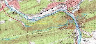 Appalachian Trail Pennsylvania Map by Hiking Near The Lehigh Gap