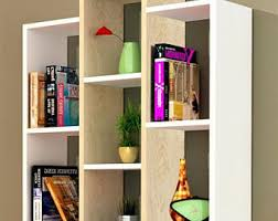 Storage Bookshelf Bookshelves Etsy