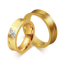 engagement rings for couples online shop stainless steel rings cubic zirconia jewelry gold