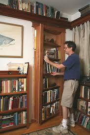 build your own secret bookcase door abebooks u0027 reading copy