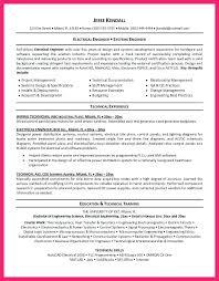 sample electrical resume civil engineer resume sample sample