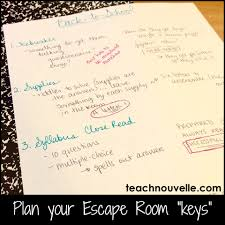 using escape rooms in ela nouvelle ela teaching resources