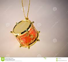 toy drum christmas decoration royalty free stock image image